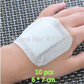 10ps Medical Sterilization Non-woven Adhesive Bandage Wound Dressing Band aid Wound Tourniquet First Aid Outdoor foot patch care
