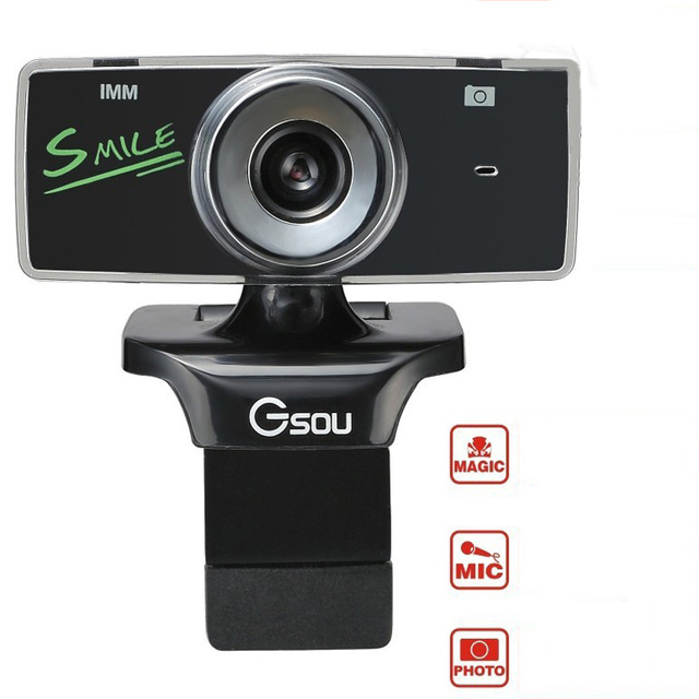 Gsou Anchor's Smile webcam 3 mega HD multifunctional web camera with magical CMOS and microphone 2916041504