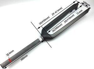Image 5 - no logo full carbon fiber carbon fiber 26 /27.5/29er hard mountain bike fork carbon fork mtb bike fork