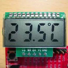 Free Shipping!!! 3.3V segment liquid crystal / HT1621 drive / low-power LCD / SCM for 51 /