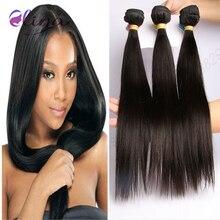 9A Hot Virgin Brazilian Straight Hair 3 Bundles Unprocessed 100% Brazilian Virgin Hair Straight Brazilian Straight Virgin Hair
