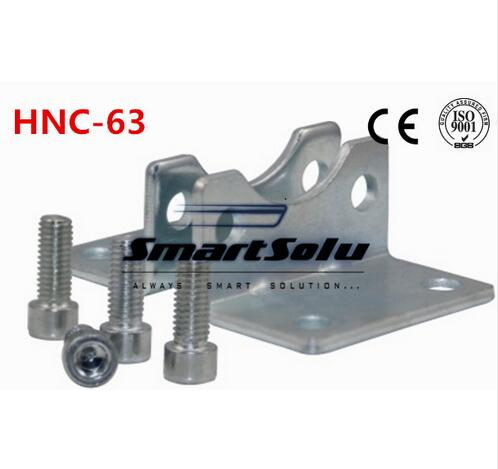 Free Shipping 5pcs/lots ISO6431 cylinder accessories HNC-63, the foot rack installation, DNC, SE, SI cylinder accessories morais r the hundred foot journey