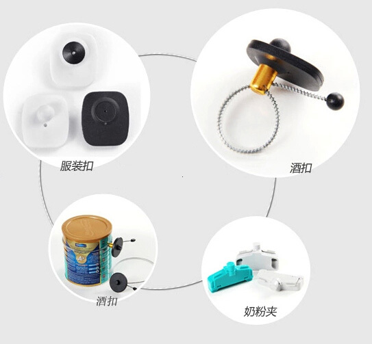 magnetic security tag detacher hard tag removal eas metal detacher 15000GS free shipping