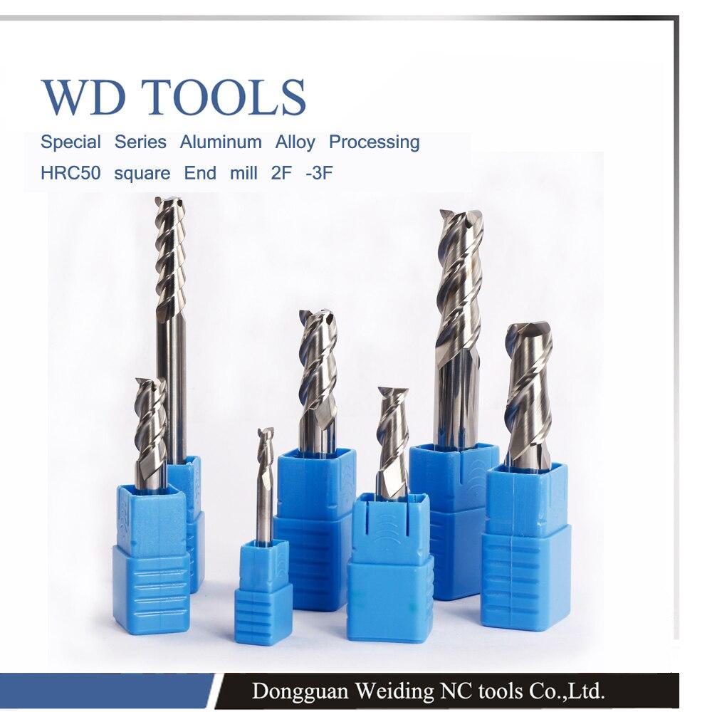 20 0X100LX20D factory shop high gloss router bit CNC machine 3 flutes milling cutter for Aluminium