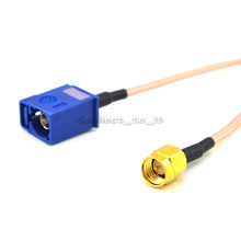 GPS Antenna Extension Cable Fakra C Jack Female to SMA Male Plug Pigtail Cable RG316 15CM