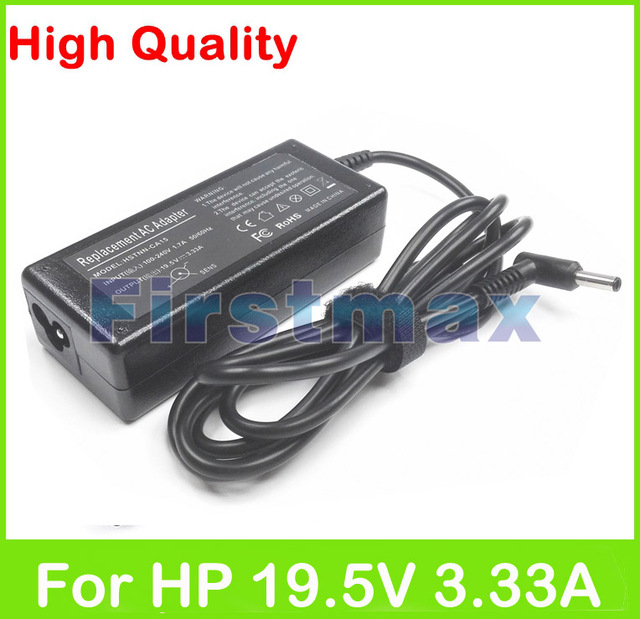 19.5V 3.33A 65W laptop AC power adapter for HP charger 350 G1 350 G2 355 G1 355 G2 for Envy M6-k000 M6-k100 Sleekbook