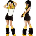 Penguins Clothes Fur Animal Clothing Halloween Theme Party Costume Game Uniform Halloween Costumes for Women