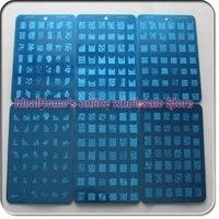 8 различные стили ногтей печать изображения плиты польский штамповка смешанные конструкции плиты инструмент бесплатная доставка оптовая