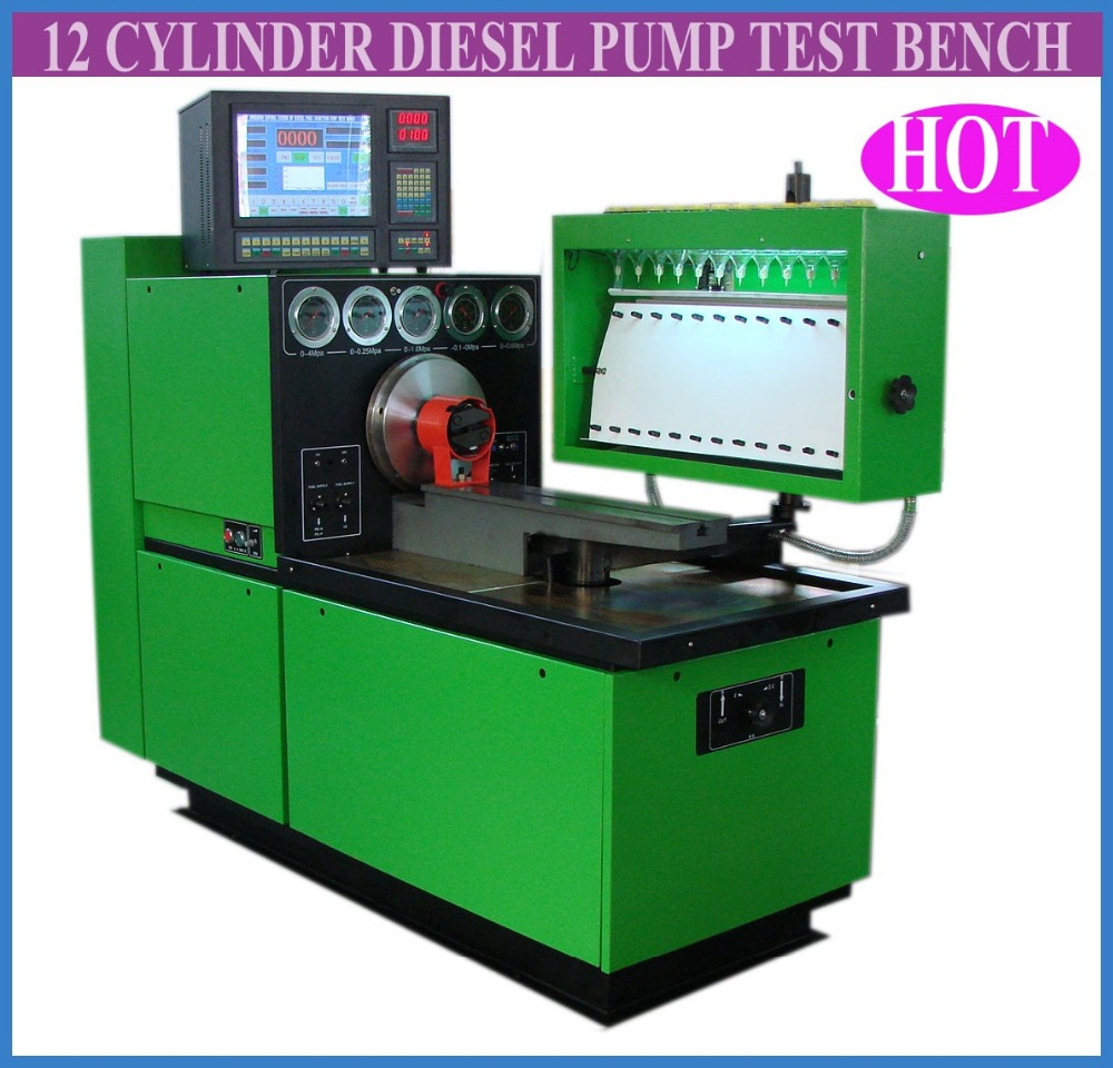 Pcm E Sel Fuel Injection Pump Test Bench Stand Bank