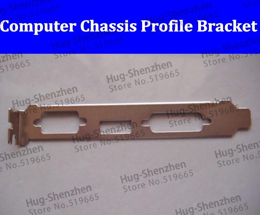 HIgh quality Computer Chassis PCI Profile Bracket HDMI VGA brackert For Dell HP chassis