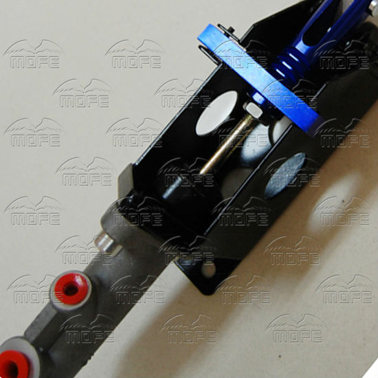 Universal Aluminum Master Cylinder 0.7 Inch Vertical Horizontal Racing Drift Rally Hydraulic Handbrake Hand Brake Purple Red Black Blue hydraulic hand brake-blue (3)