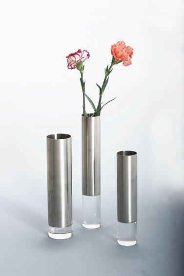 Stainless Steel Flower Vase Metal Flower Pot Table Vase In Vases