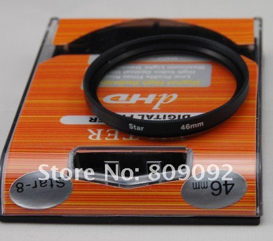46 мм 8 точечный 8PT Звездный фильтр для объектива камеры