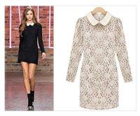 оптовая продажа бесплатная доставкаnew осень наряд мода бутон шелковый шнурок платье