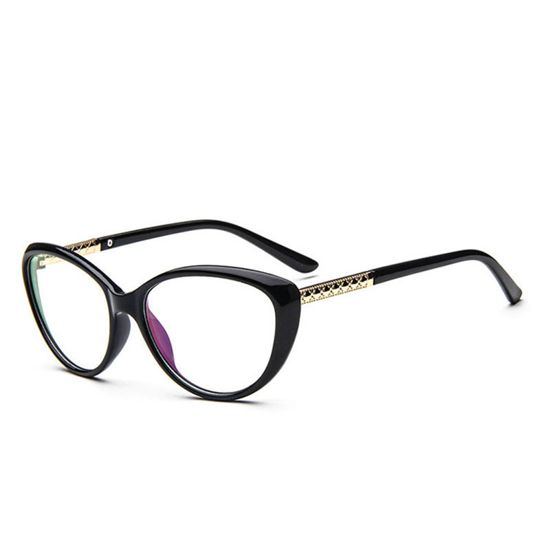 Old Eyeglass Frames New Lenses : New Vintage Eyeglasses Women Designer Oval Eyeglasses ...