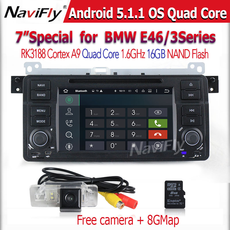 Free Ship Capacitive Touch screen Quad Core 1 Din 7 Inch Android5 1 font b Car