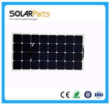 Solarparts 1pcs PV solar panel 12V solar charger for car battery sunpower solar cell flexible solar panels