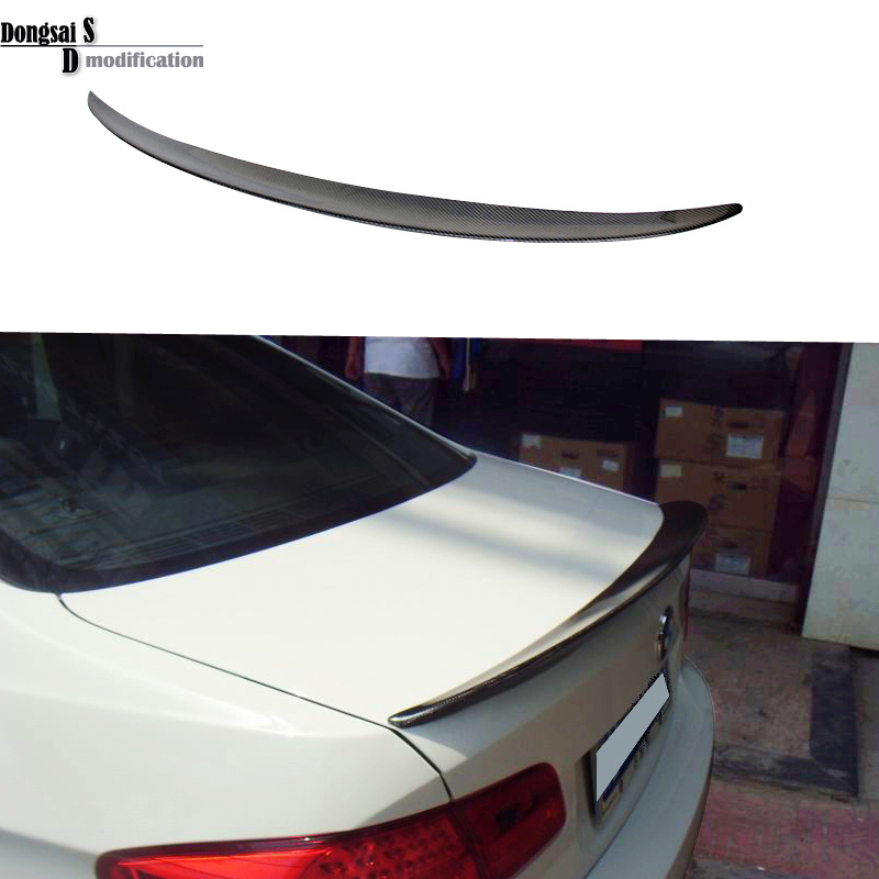 3 series E92 carbon fiber Performance p style spoiler fits for BMW 3 series E92 2007 - in ( 2-door coupe ) mercedes carbon fiber trunk amg style spoiler fit for benz e class w207 2 door 2010 2015 coupe convertible vehicles