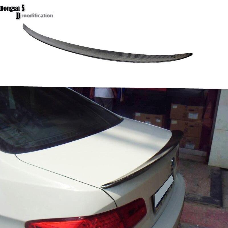 3 series E92 carbon fiber spoiler fits for BMW 3 series E92 2007 - in ( 2-door coupe ) p style for bmw e92 spoiler 3 series e92