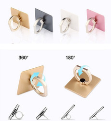 2015 New Luxury 360 Degree Finger Ring Mobile Phone Smartphone Stand Holder For iPhone iPad all Smart Phone 4 Colors PH02
