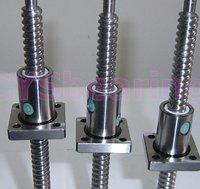 прокат тип шариковый винт dfu2510 л 500 мм + один двойной орех, 4 цепи, резьбовых/свинца 5 мм швп, ballnut для чпу АБВ