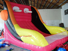 2016 PVC inflatable sports game inflatable basketball backboard inflatable hoops inflatable playground