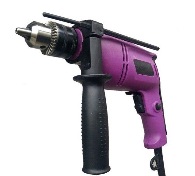 Electric Hammer Drill Multifunction Puncher Electric Screwdriver Power Tools Drill Shock Taladro Inalambrico Elektrikli Matkap