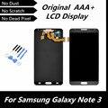 Для Samsung Galaxy Note3 примечание 3 N9000 N9005 N9002 N9006 N9008 жк-дисплей цифрователем сенсорный экран ассамблея черный замена