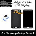 Para Samsung Galaxy Note3 nota 3 N9000 N9005 N9002 N9006 N9008 pantalla LCD pantalla táctil digitalizador de montaje negro repuesto