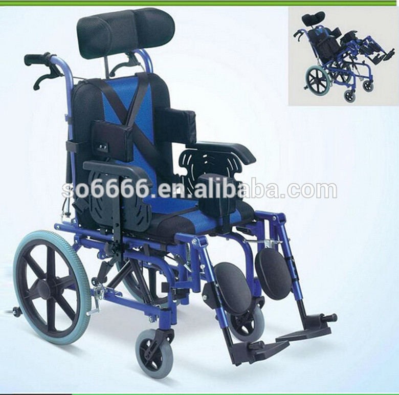 Folding Aluminium Cerebral Palsy Wheel/Disabled Wheelchair for ...