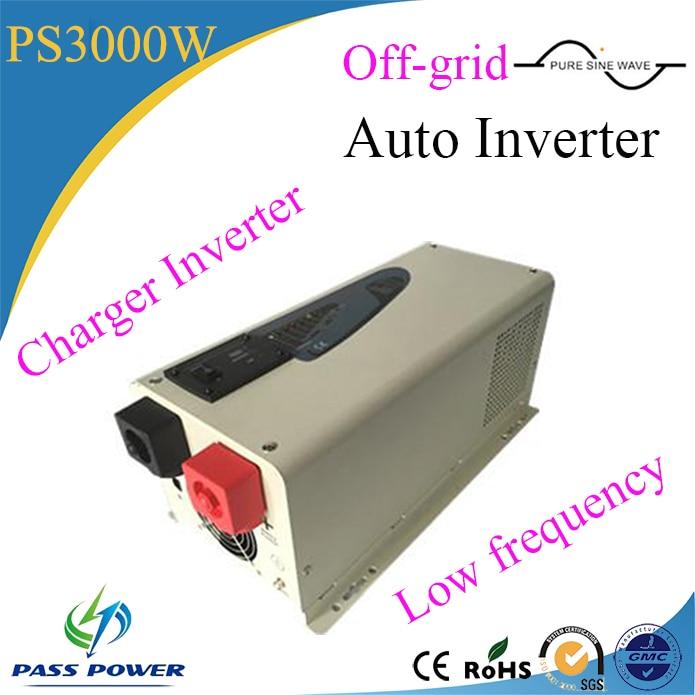 Normal Specification and Car,Off-grid system Application 12v24v48v to 220v powerful dc ac inverter 3000w Auto Inverter