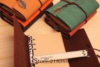 кожи ретро бумага ручной работы кольцо связующего ноутбук эскиз книги путешествия журналы дневник корея канцелярские