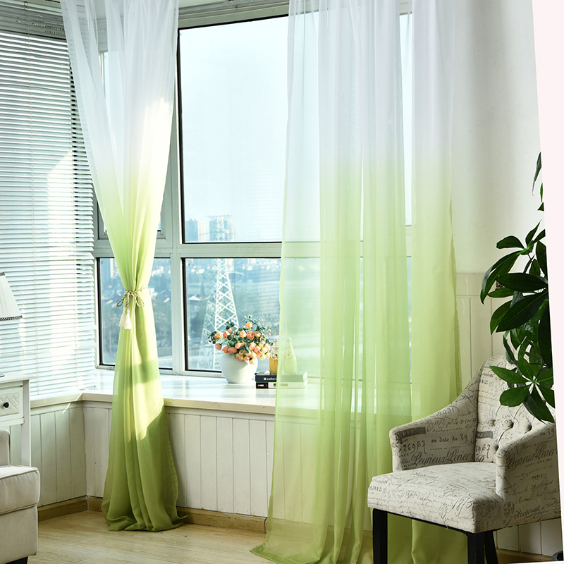 Tulle Curtains 3d Printed Kitchen Decorations