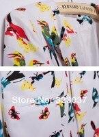 супер-СК женской Doug мода птица женский костюм тонкий женский пак ВФ-0735