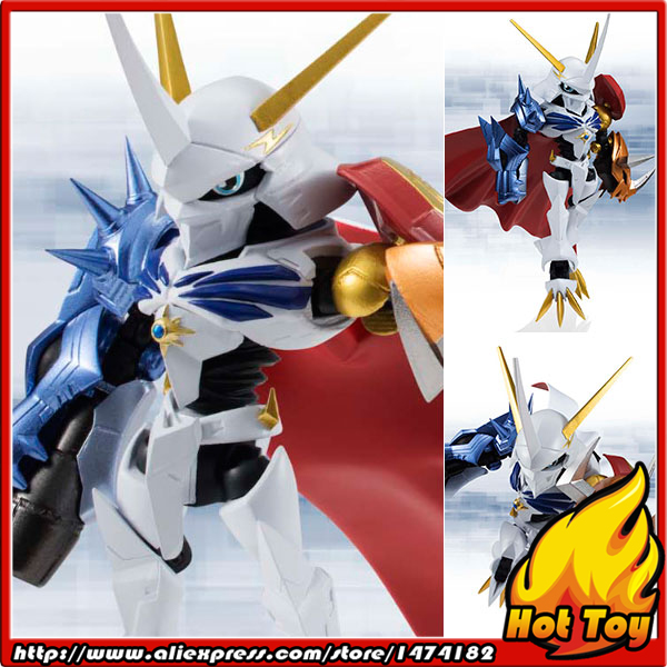 100% Original BANDAI NXEDGE STYLE [DIGIMON UNIT] Action Figure - Omegamon from