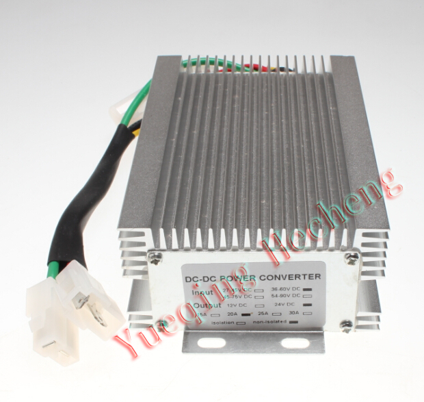 Golf Cart DC Converter 36V to 24V Step Down Reducer 20A 20amp EZOGO цены