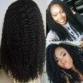Glueless Full Lace Human Hair Wigs 7A Brazilian Kinky Curly Virgin Hair Wigs Lace Front Human Hair Wigs For Black Women Wigs
