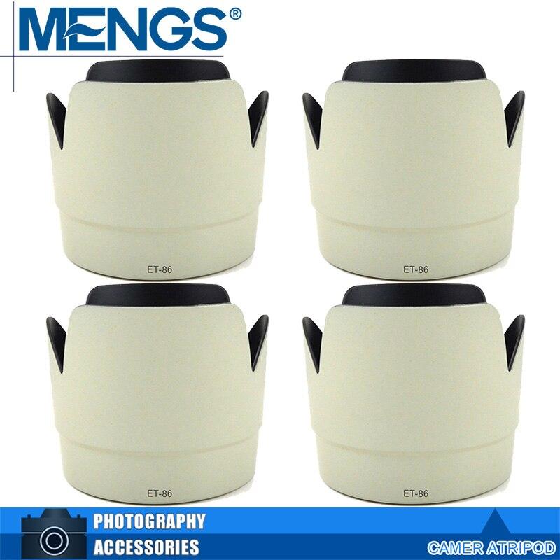 Новые менгс 4 шт. в упаковке ET-86 лепестка-форма бленда для Canon EF 70 - 200 мм F / 2.8 л IS USM - белый ( 14140005910 )