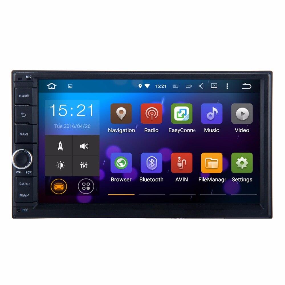 imágenes para Coche 2 din Unidad Principal GPS NAVI Universal Para Nissan TIIDA x-trail Frontier Livina MP300 sentra Micra Radio WIFI navegador mapa Gratuito