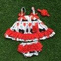 0 - 2 т новорожденных девочек новая детская одежда костюм красная стрела качели вершины качели наряды дети качели одежда с соответствующими повязка на голову