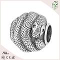 Rollo de la serpiente calidad superior pero precio al por mayor plata de ley 925 colgante encanto