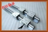 2 шт. SBR16 линейных направляющих 1000 мм Линейный вала рельса поддержка + 4 шт. SBR16UU Линейные подшипниковые блоки