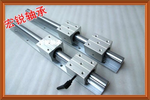 2pcs SBR16 linear guides L 1000mm Linear shaft rail support + 4pcs SBR16UU Linear bearing blocks sbr16 linear guides l 1000mm linear shaft rail support sbr16uu linear bearing blocks