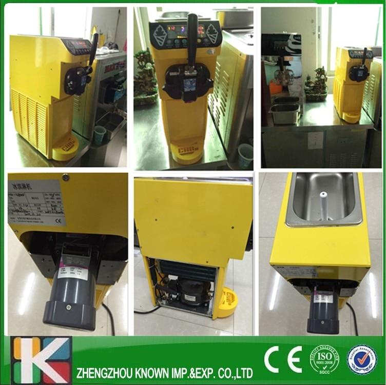 Table Top Soft Serve Ice Cream Machine/home Use Soft Ice Cream Machine 5L/hour