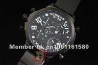 1 шт., конструктор weldering k-29 серии черный pvd чехол мужские часы, из нержавеющей стали мужские часы, круглой формы, серебро