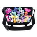 My Little Pony poliéster adorável bolsa de ombro impresso com Twilight Sparkle / Rainbow Dash / A Apple Jack / raridade / Fluttershy tipo A