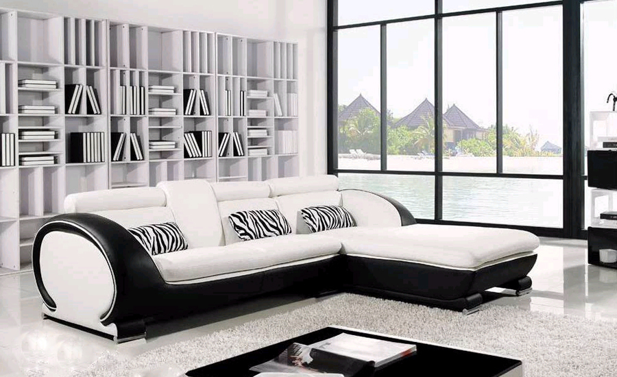 Chesterfield Sectional Sofa Leather