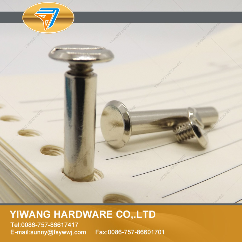 200pcs/lot 32mm Wholesale High Quality Book Binding Screw