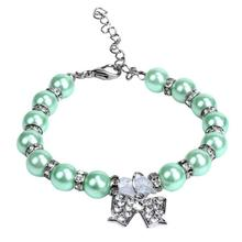 Bow Embellished Collar Pet Necklace