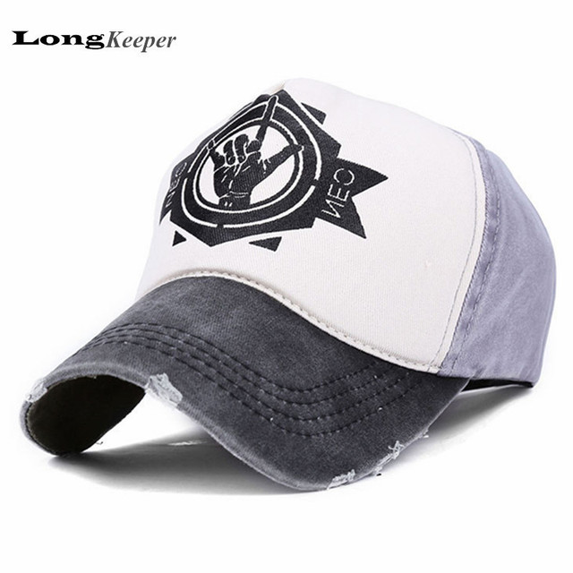 9ae2728478b Classic Women Men Distressed Wearing Baseball Cap Brand Snapback Caps Retro Strapback  Snapback Hats Vintage Van